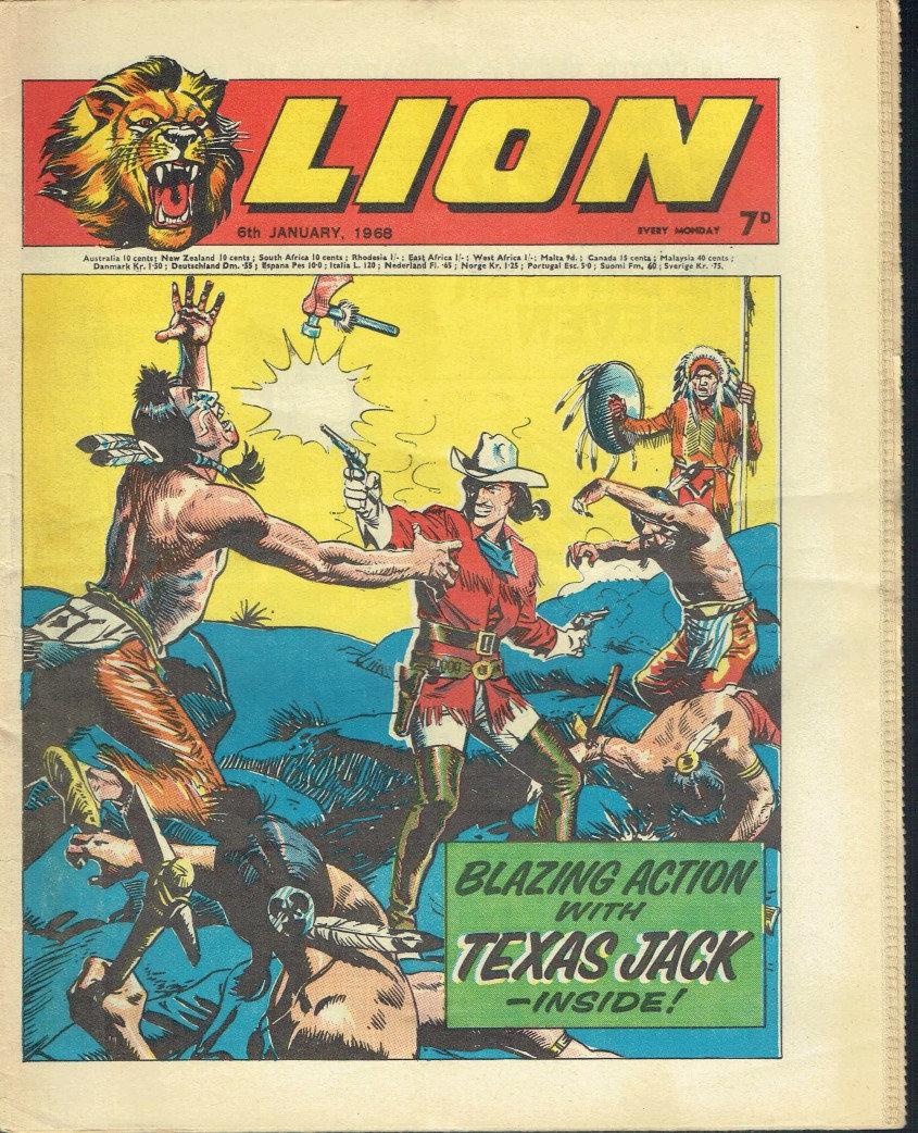 Texas Jack - Lion Comics January 6, 1968