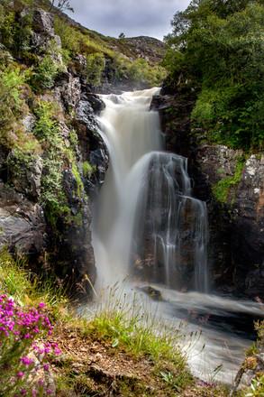 Kirkaig Falls ref 2128