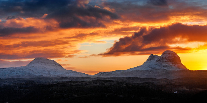 Canisp and Suilven ref 2106