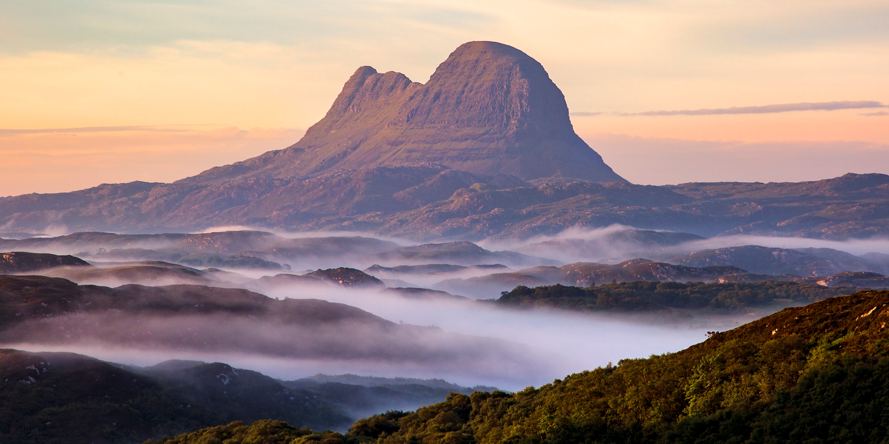 Suilven and mist
