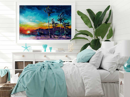 How to Design a Uniquely Ocean Themed Bedroom