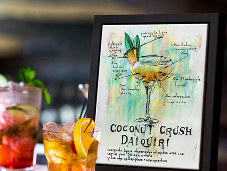 The Coconut Crush Daiquiri | Adventurous Mixology