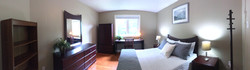 1Brown Bedroom Panorama View
