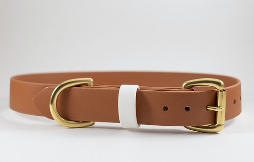 "Tawny 1"" Adventure Series Biothane Collar"