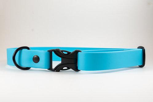 """1"""" Sky Blue Buckle Adventure Collar"""