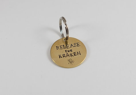 Release the Kraken Tag/Keychain
