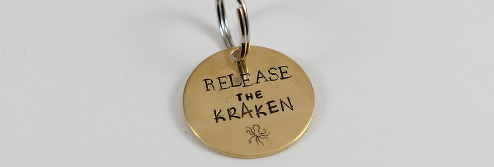 Release the Kraken Tag/Keychain