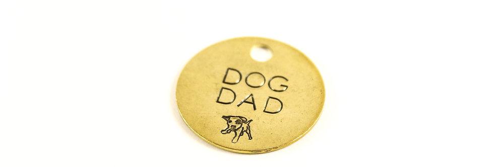 Dog Dad Keychain