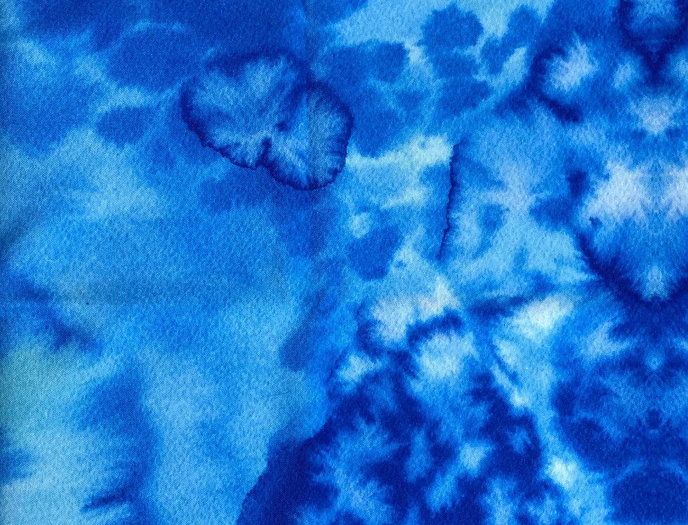 Oceanic Watercolor Eco Canvas Collar