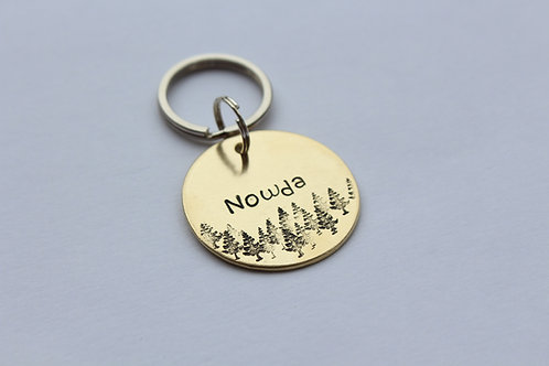 Forest Dog Tag