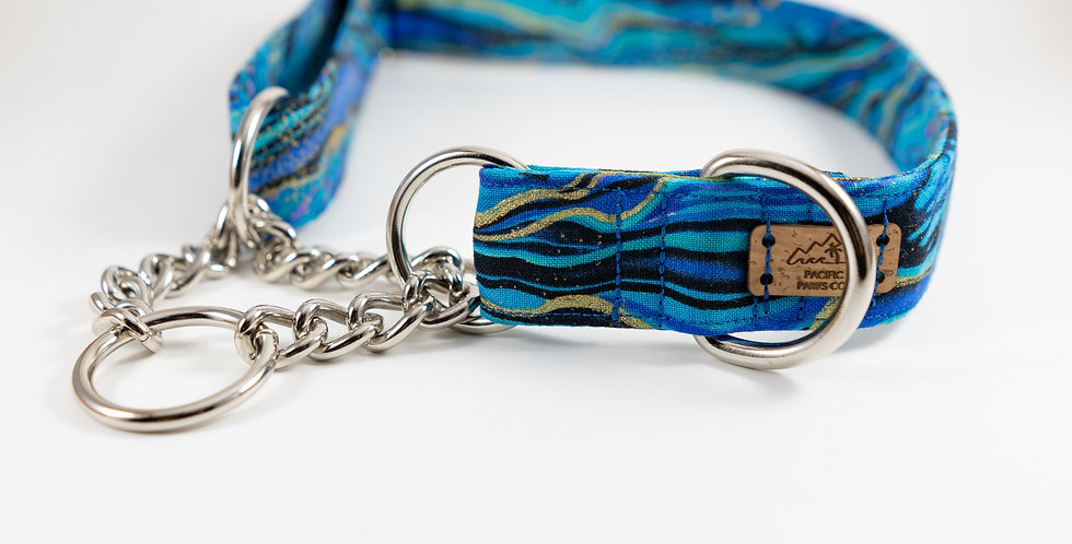 Fabric or Chain Martingale Collar Upgrade