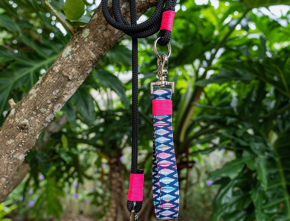 Skyline Leash // Climbing Rope Dog Leash