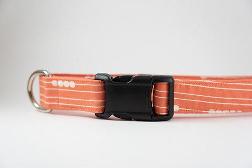RTS: Peach Stripes Collar