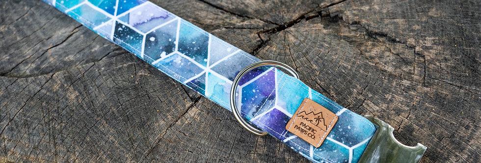 Galaxy Watercolor Eco Canvas Collar