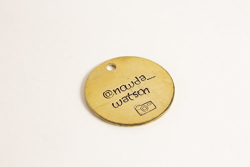 Instafamous Dog Tag