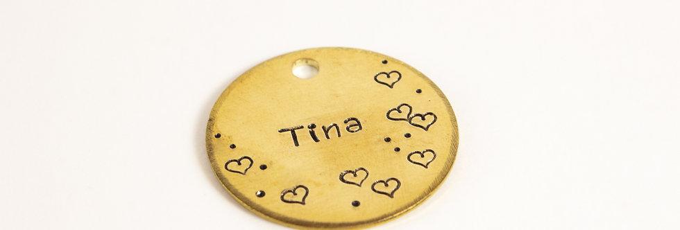 The Tina Dog Tag