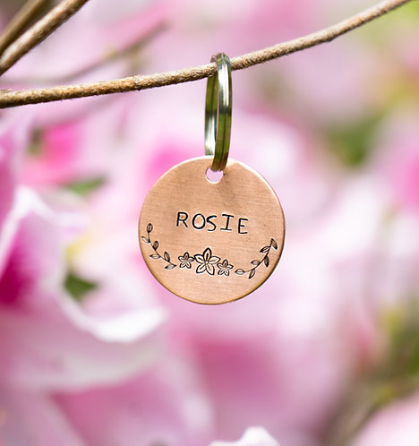 Rosie Dog Tag