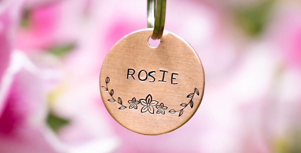 Rosie Dog Tag