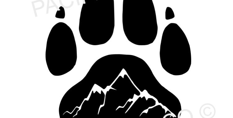 Mountain Paw Sticker