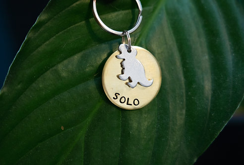 Limited Edition T-Rex Layered Tag