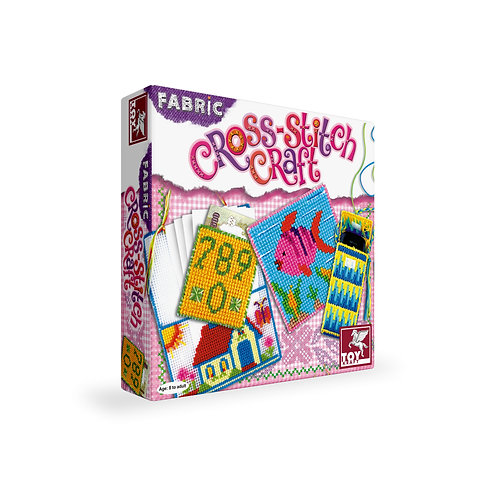 Cross Stitch Craft stiching craft for ages 7 and above