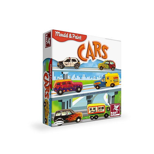 Mould & Paint - Car craft toys for kids ages 5 and above