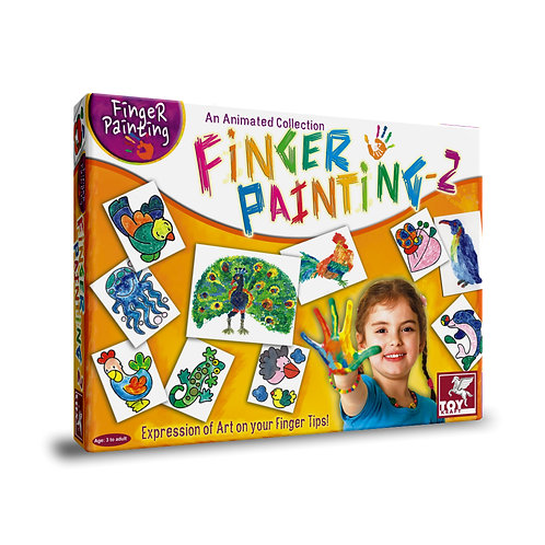Finger painting kit for Kids ages 3 and above