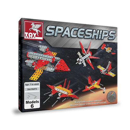Toykraft spaceship kit for kids ages 7 and above