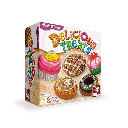 Mould N Paint Delicious Treats mould and paint craft for the ages 5 and above