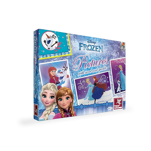 Disney Frozen Pictures With Sand And Sparkle craft toys for ages 7 and above