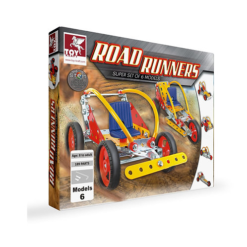 Toykraft road racer kit for kids ages 7 and above