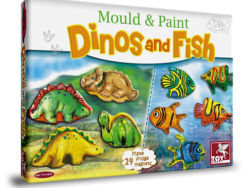 Mould and paint toys for kids ages 5 and above