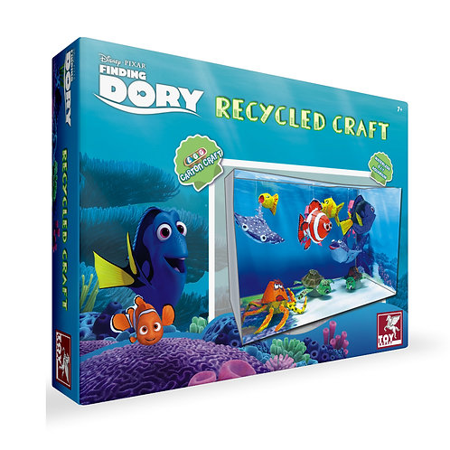 Finding Dory - Recycled Craft toys for kids ages 7 and above