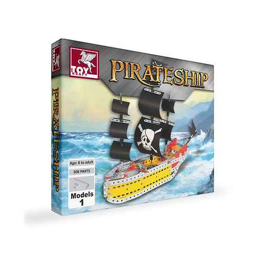 Pirate Ship kit for kids ages 7 and above
