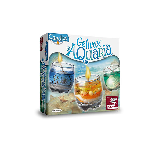 Gelwax Candles - Aquaria making candle craft for ages 7 and above