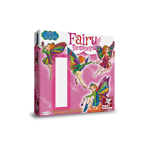 Pictured In Sand & Sequin - Fairy Fantasies craft toys for kids ages 5 and above