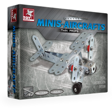 Construction of Plane toys for kids ages 7 and above