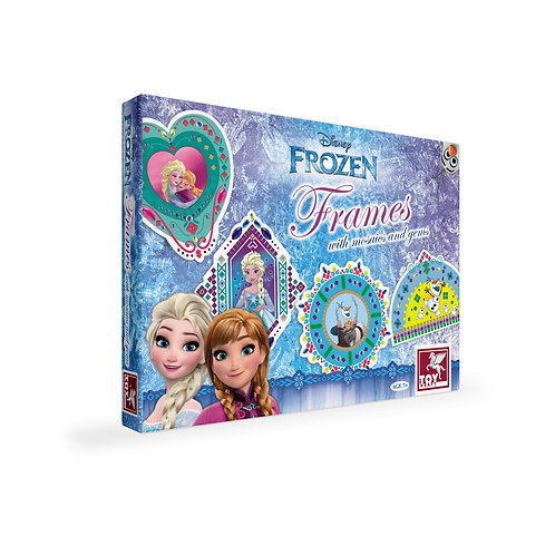 Disney Frozen Frames With Mosaic & Gems craft toys for kids ages 7 and above