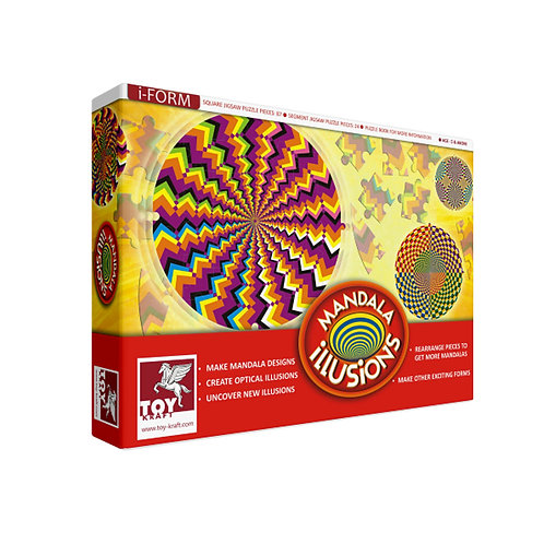 MANDALA – ILLUSIONS Craft toys for kids ages 5 and above