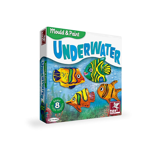 Mould and Paint Underwater craft toys for kids ages 5 & above