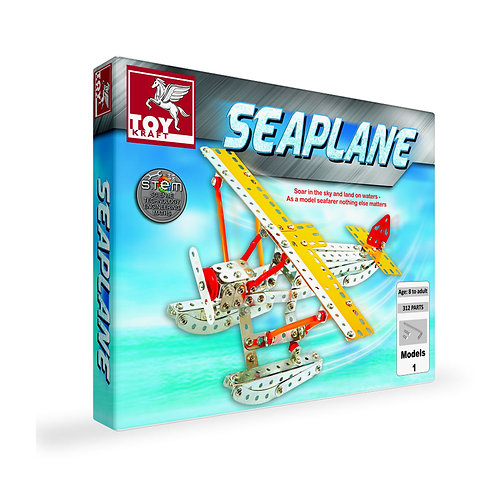 Toyraft sea plane kit for kids ages 7 and above