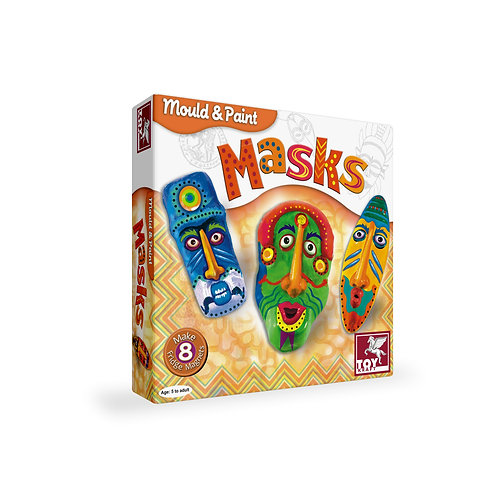 Mould & Paint - Mask craft toys for kids ages 5 and above