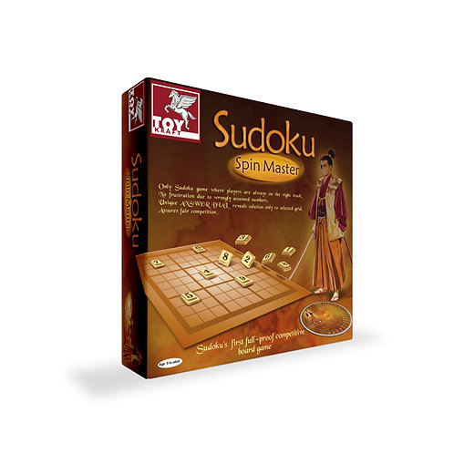 SUDOKU - SPIN MASTER Puzzle toys for kids ages 7 and above