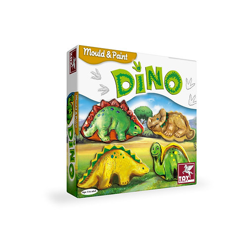 Mould & Paint - Dino craft toys for kids ages 5 and above