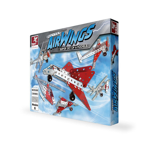 Toykraft Airwigs kit for kids ages 7 and above