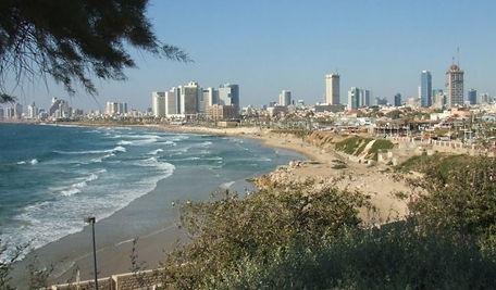 Tel Aviv view from Jaffa