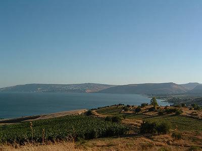 Sea of Galilee, lac de Tiberiade