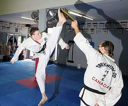 Flying Front Kick
