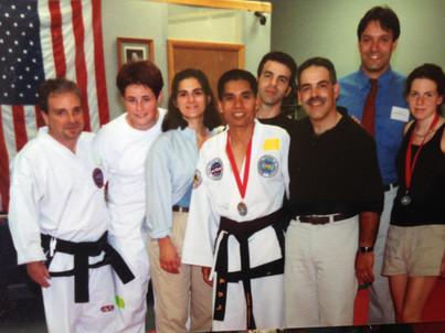 Instructors, late 90's, tournament, Monroe, CT