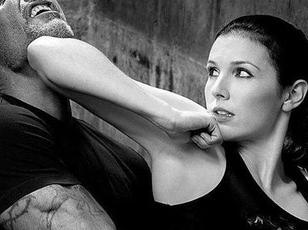 Point of the Chin Elbow Strike